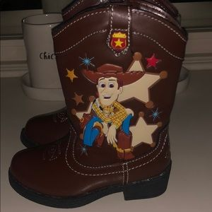 Other - Toddler Toy Story Zip-Up Cowboy Boots